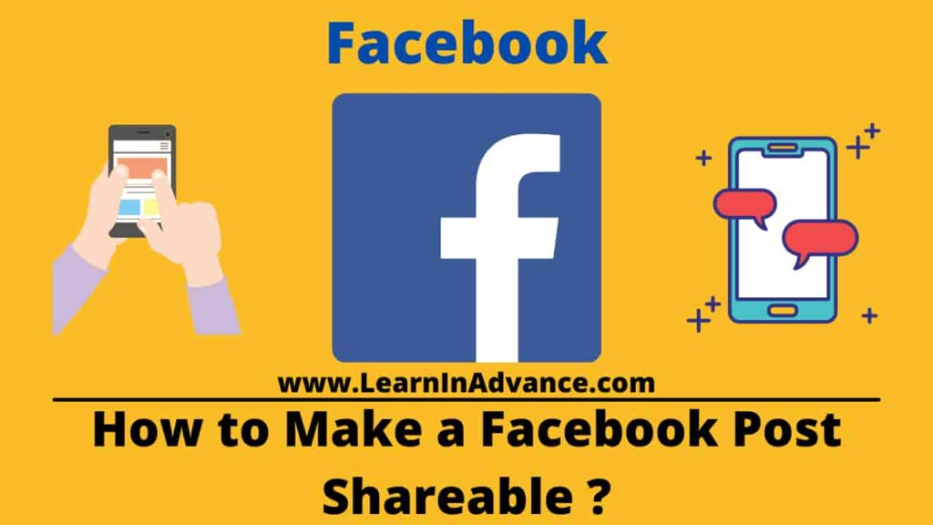 How to Make a Facebook Post Shareable