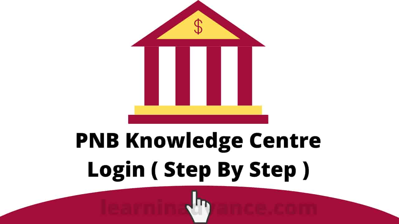 PNB Knowledge Centre login