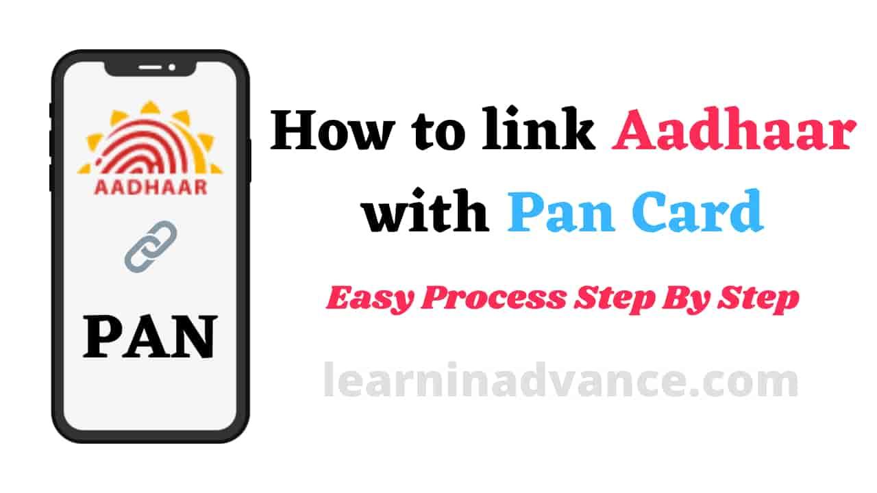 how to link aadhaar with pan card