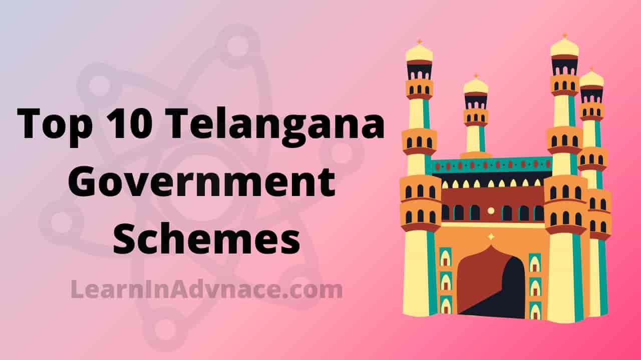 telangana government schemes